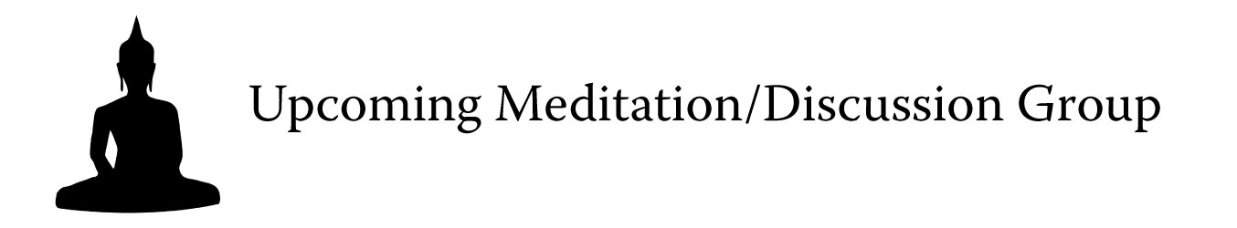 Meditation-discussion group graphic